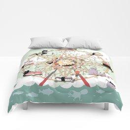 The Sushi Wheel Comforters