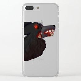 Hellhound Terra Clear iPhone Case
