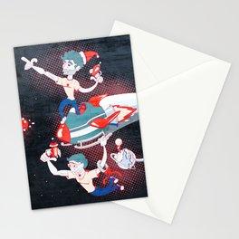 Rocket Christmas Stationery Cards