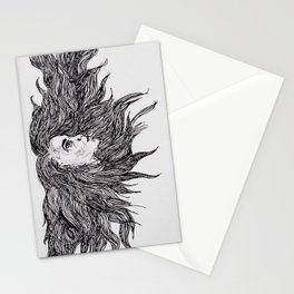 Night and Day Goddess Stationery Cards