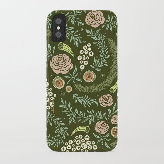 Spring Walk Floral iPhone Case