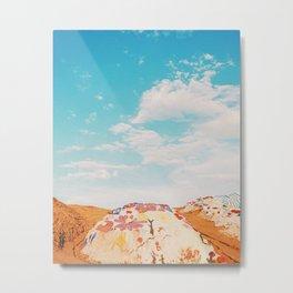 Salvation Mountain, California Metal Print