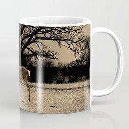 Rustic Deer Tree Modern Country Cottage Chic Farmhouse Art A587 Coffee Mug