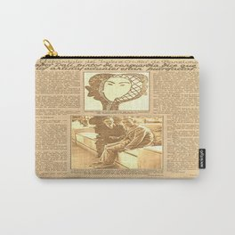 Salvador DALI. First interview. 1928 Carry-All Pouch