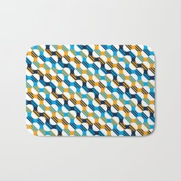 People's Flag of Milwaukee Mod Pattern Bath Mat