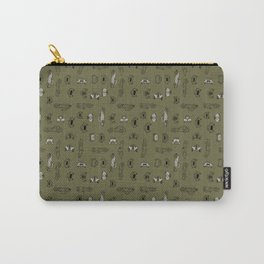 Automobiles (olive) Carry-All Pouch