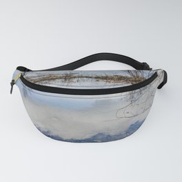Water and Sky reflections Fanny Pack