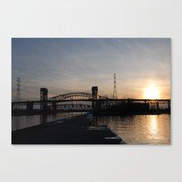 Burlington Bridge Canvas Print
