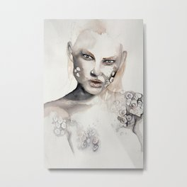 Barnacle girl Metal Print
