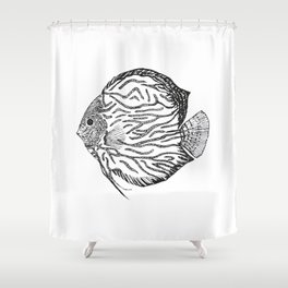 Discus Shower Curtain