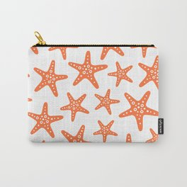 Sweet Starfish Pattern 231 Orange Carry-All Pouch