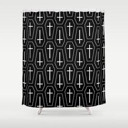 Coffins Shower Curtain