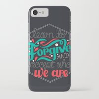 blink 182 iPhone & iPod Cases featuring Blink 182 - Pretty Little Girl Hand drawn lyrics by Sidrah  Mahmood