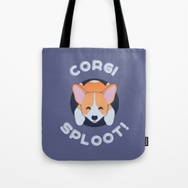 Corgi Sploot Cute Funny Gift for Dog Owners Tote Bag
