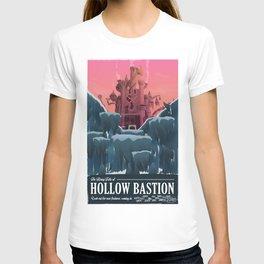 Hollow Bastion (Kingdom Hearts) Travel Poster T-shirt