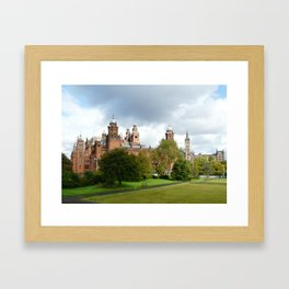 Kelvingrove Art Galleries and Museum  Framed Art Print