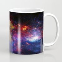 astronomy Mugs featuring SXC Astronomy P1 by Skankotron