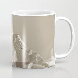 Alaskan Mts. - Mono I Coffee Mug