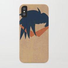 Minimalist Kamina iPhone X Slim Case
