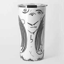 Tragic Beauty of the Once Undone Travel Mug