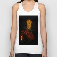 picasso Tank Tops featuring King Picasso by Ganech joe