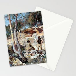 Walter Withers Fossickers Stationery Cards
