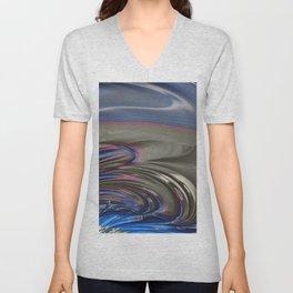 Blue Opal Unisex V-Neck