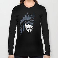 V For Bat (B Edition) Long Sleeve T-shirt