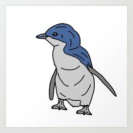 Little Blue Penguin Art Print