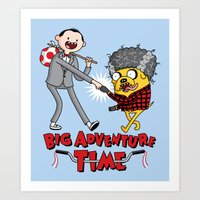 Time For a Big Adventure Art Print
