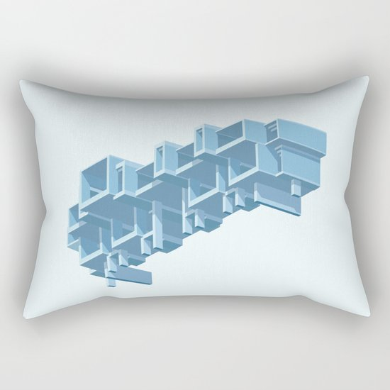 Orange County Government Centre Rectangular Pillow