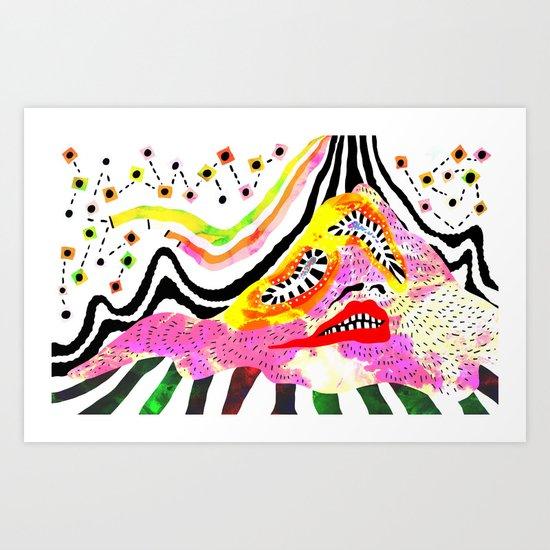 """Melophobia"" by Steven Fiche Art Print"