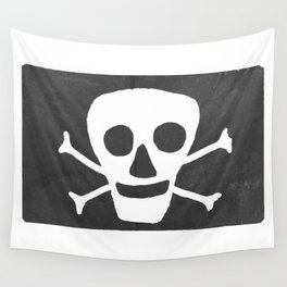 Pirate flag Wall Tapestry