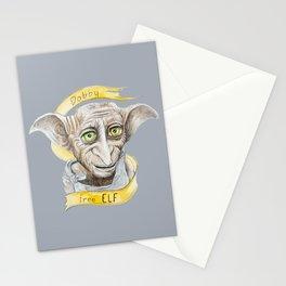 Dobby free Elf Harry Patter Stationery Cards