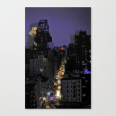 City Lights in NYC Canvas Print