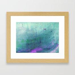 Deep Into The Ocean Framed Art Print