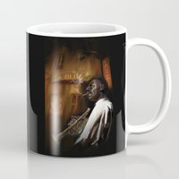 jazz Mugs featuring Jazz by Y25M