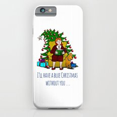 A Blue Christmas iPhone 6s Slim Case