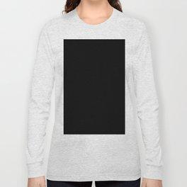 Simply Midnight Black Long Sleeve T-shirt