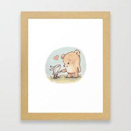 Brommel & Dee - Friends Forever Framed Art Print