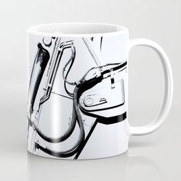 Arm of Bleach Industrial Digger Coffee Mug