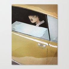 In Car Canvas Print