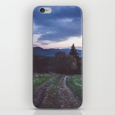 Go where you feel the most alive iPhone & iPod Skin