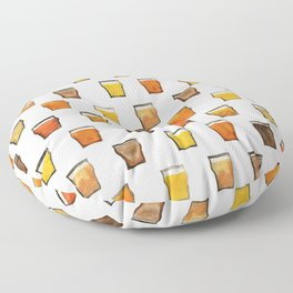 All the Beer in the World Floor Pillow