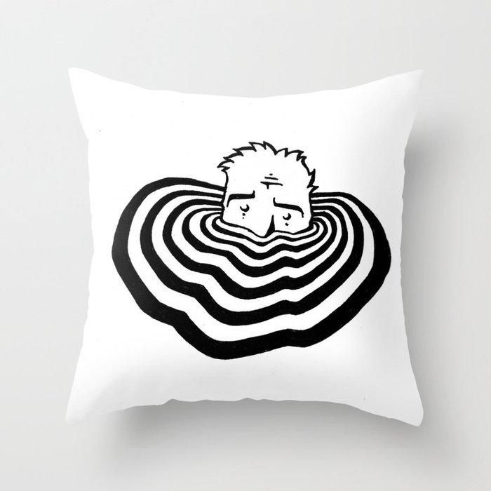 Ripples #2 Throw Pillow