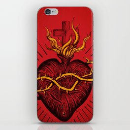 Bleeding Heart iPhone Skin
