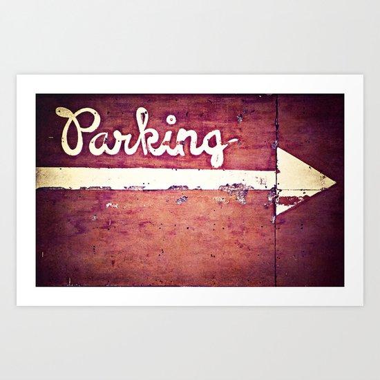 Park It Art Print