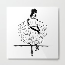 Belleny Rose - The Other Side of Eve Metal Print