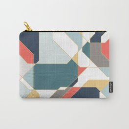 Soothing Polygons Carry-All Pouch