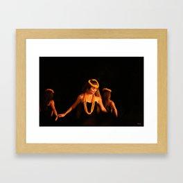 Hawaiian Luau Framed Art Print